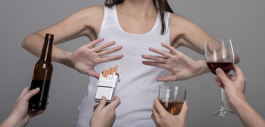 Алкоголь и никотин