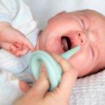 Насморк у детей до года