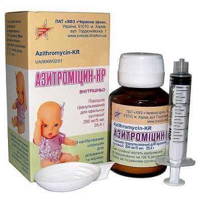 Детский Азитромицин